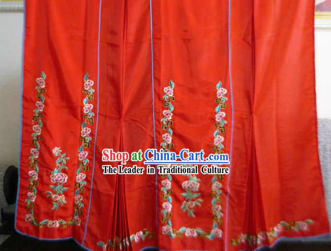 Traditional Chinese Peking Opera Hua Dan Skirt
