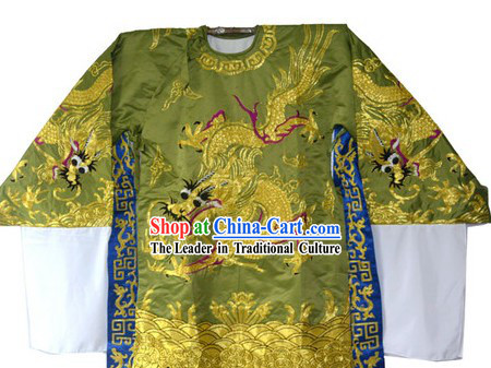 Traditional Chinese Embroidered Dragon Blouse