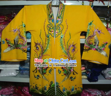 Chinese Opera Embroidered Phoenix Clothes