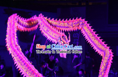 Professional Stage Performance World Luminous Dragon Dance Championships Costume Complete Set