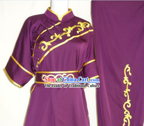 Professional Wing Chun Fist Martial Arts Uniform Complete Set for Women