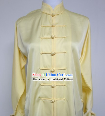Kung Fu (Kungfu) Uniform Long Sleeve Silk