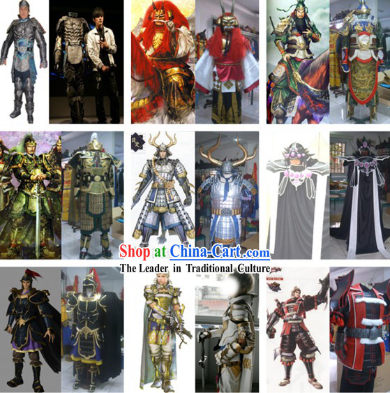 Custom Tailored Film, Drama and Cosplay Costumes According to Your Picture