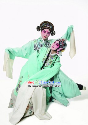 Traditional Chinese Opera Butterfly Love Liang Zhu Robes