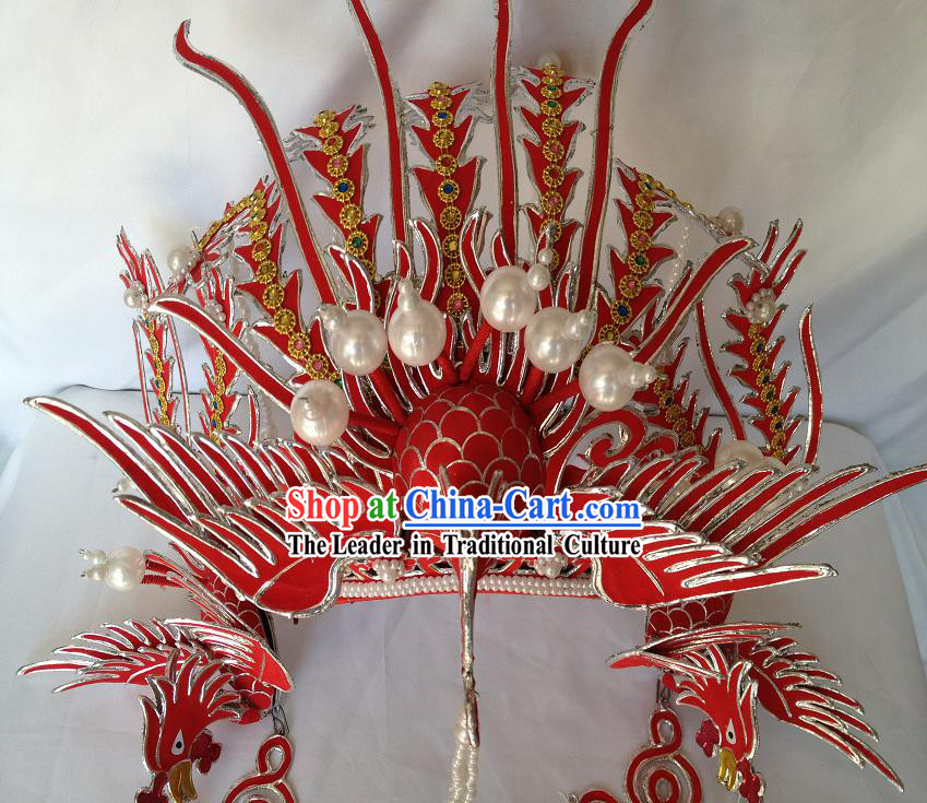 Traditional Chinese Phoenix Hat