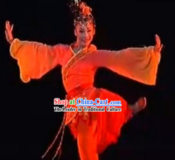 Uttterly Intoxicating Chinese Classical Dance Costumes - Han Li Feng Ying
