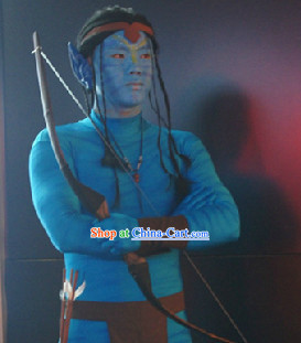Action Arts Living Sculpture Avatar Costumes Complete Set