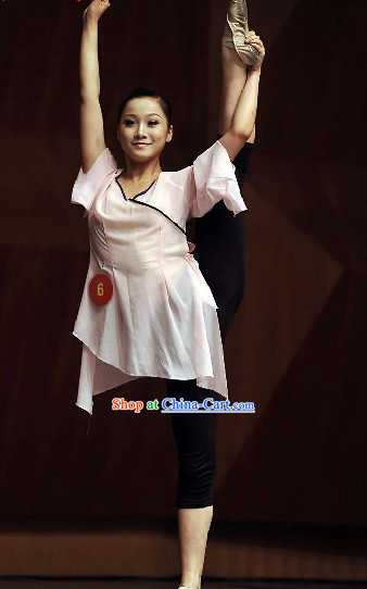 Chinese Peking Dance Academy Classical Dancing Training Uniform