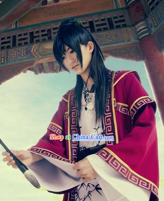 Ancient Chinese Style Knight Male Wig