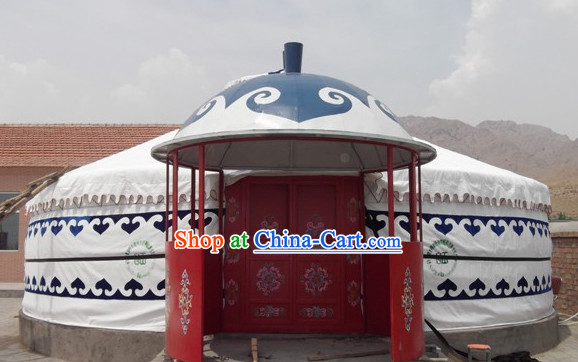 Super Big Handmade Mongolian Yurt for Living or Display
