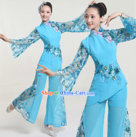 Professional Custom Make Stage Performance Accompany Dancing Costumes