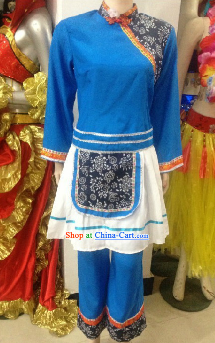 Professional Custom Make Stage Performance Water Village Restaurant Outfit