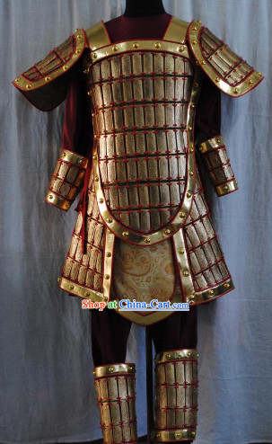Top Three Kingdom General Warrior Armor Costumes Full Set