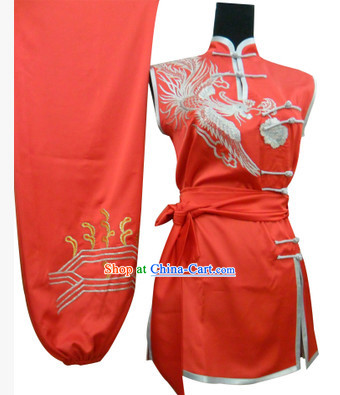 Top Silk Sleeveless Kung Fu Suit