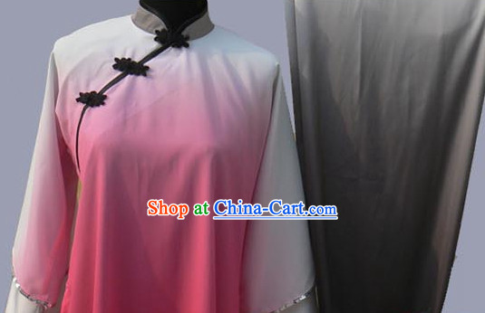 Professional Silk Long Sleeves Competition Clothing
