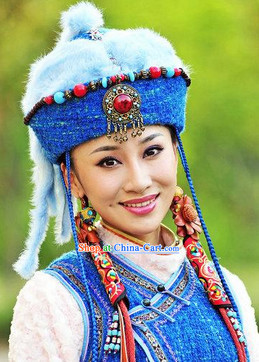 Traditional Mongolian Minority Princess Hat