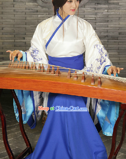 Fine Chinese Clothing Women Han Fu Dresses