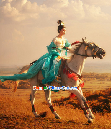 Tang Dynasty Royal Princess Clothes Complete Set