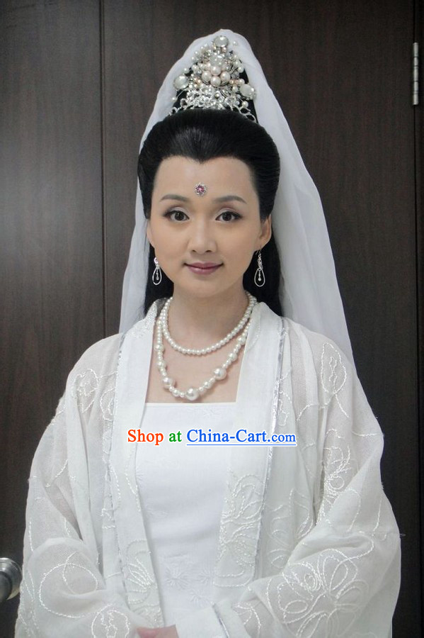Ancient Chinese Legend Guan Yin Hair Accessories