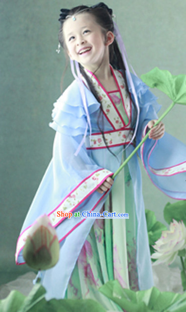 Chinese Traditional Princess Dresses For Children