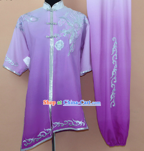 Professional Silk Taiji Martial Arts Suit Complete Set