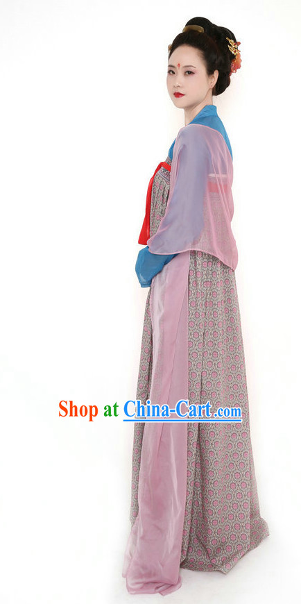 Silk Tang Dynasty Hanfu Ruqun Dress for Women