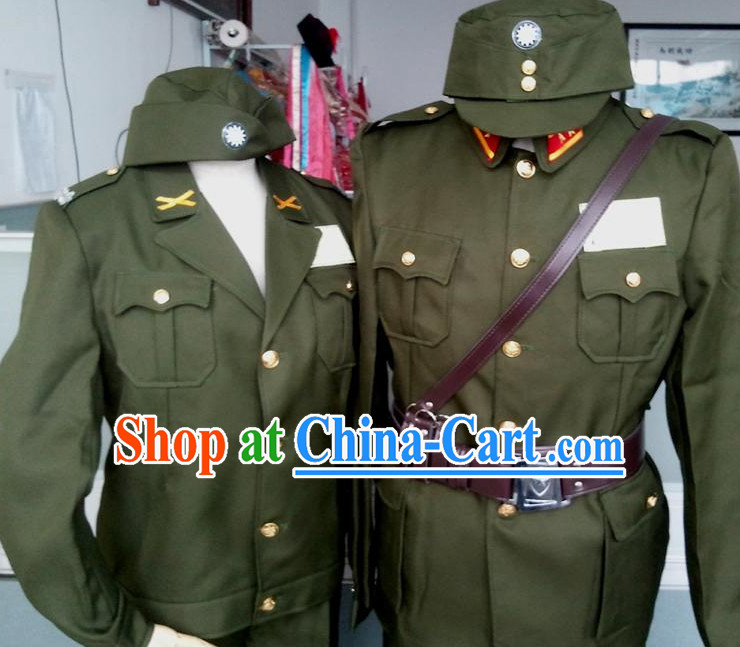 Old Times Chinese Military Uniforms