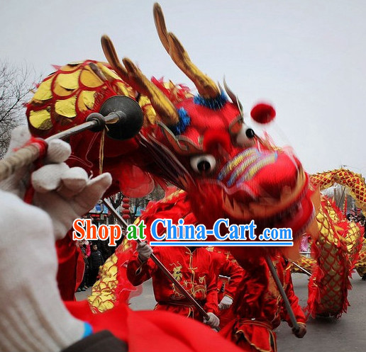 Chinese Dragon Dancing Costumes