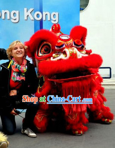 Top Lion Dance Equipments Complete Set Set for Celebration and Competition