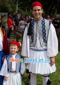 Traditional Greek Men Costumes