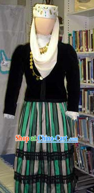Womens Greek Dress Complete Set