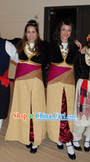 Girls Greek Costume Complete Set