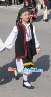 Children Greek Costumes Complete Set