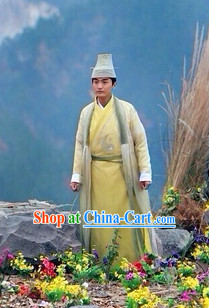 Chinese Martial Arts Chivalry Male Costumes