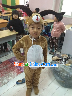 Chinese New Yer Celebration Sheep Costumes for Students