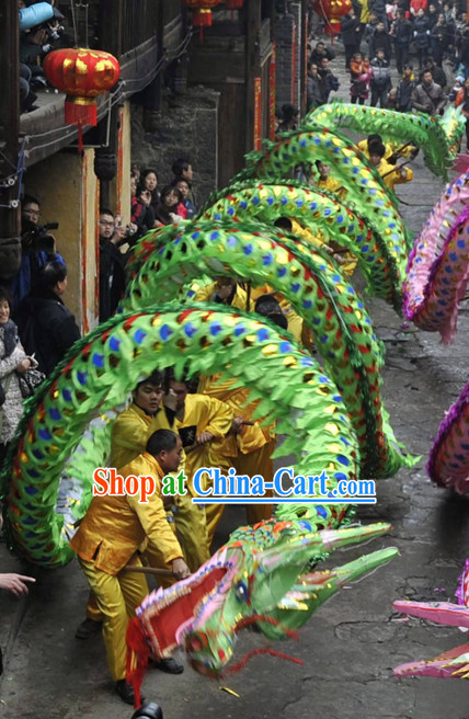 Chinese New Year Shinning Dragon Costume for Men