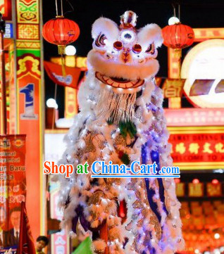 Top LED Lights Lion Costumes Complete Set