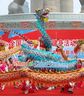 Top Shanghai Dragon Dance Equipment for 10 People