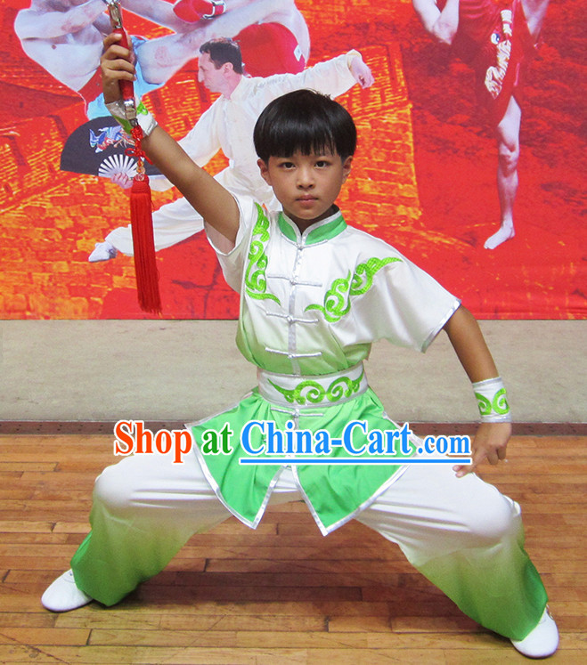 Professional Martial Arts Silk Outfit for Kids