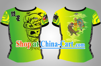 Chinese Dragon and Lion Dancer Clothes