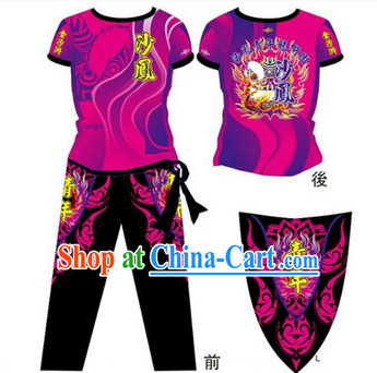 Chinese Dragon and Lion Dancers Suits
