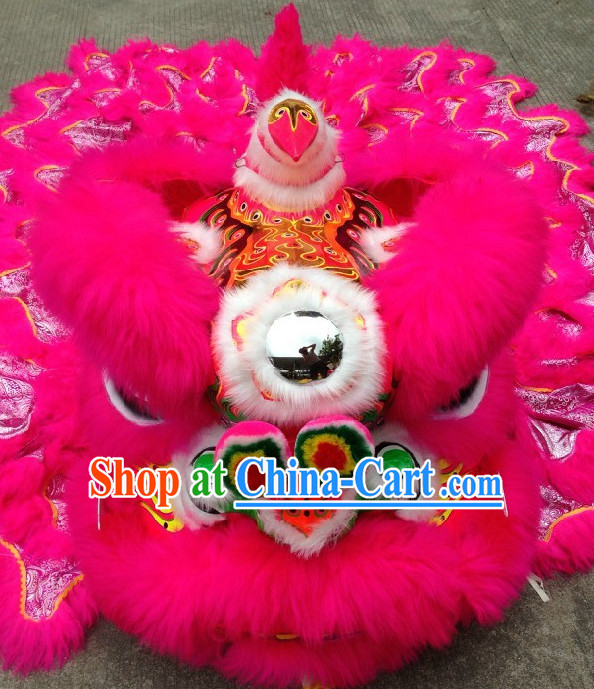 Top Chinese Lion Dance Traditional Costumes Complete Set
