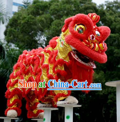 Top Happy Festival Celebration Hok San Southern Chinese Lion Mascot Costumes