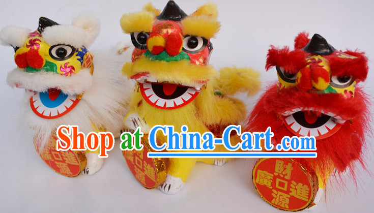 Chinese Culture Lion Toys Decorations