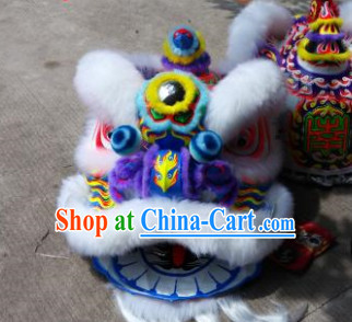 Asian Lion Dancing Costumes Complete Set