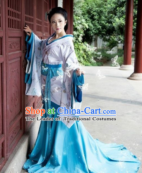 Top China Ancient Fairy Halloween Costume Complete Set for Women