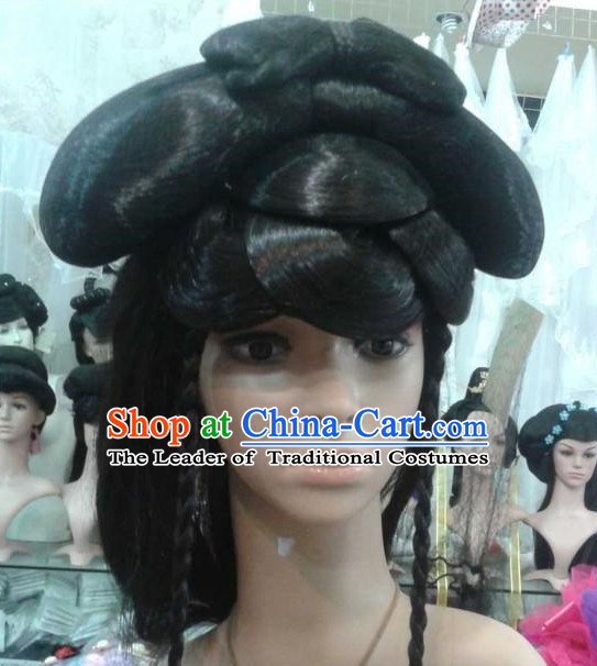 Ancient Chinese Fairy Black Wigs