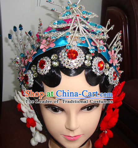 Ancient Chinese Peking Opera Hua Tan Hairstyles Fascinators Fascinator Wholesale Jewelry Hair Pieces