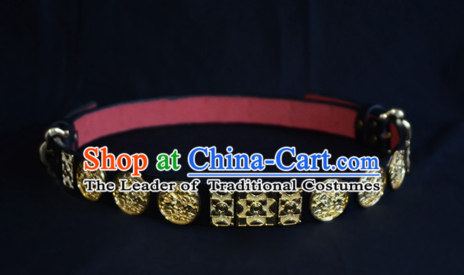 Chinese Ancient Hanfu Handmade Feather Belt