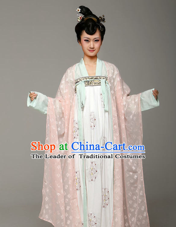 Chinese Classic Tang Dynasty Hanfu Beauty